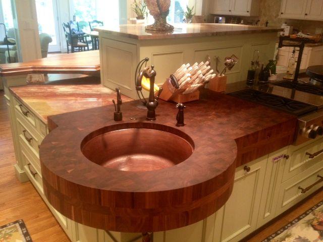 20 Incredible Wooden Kitchen Countertops