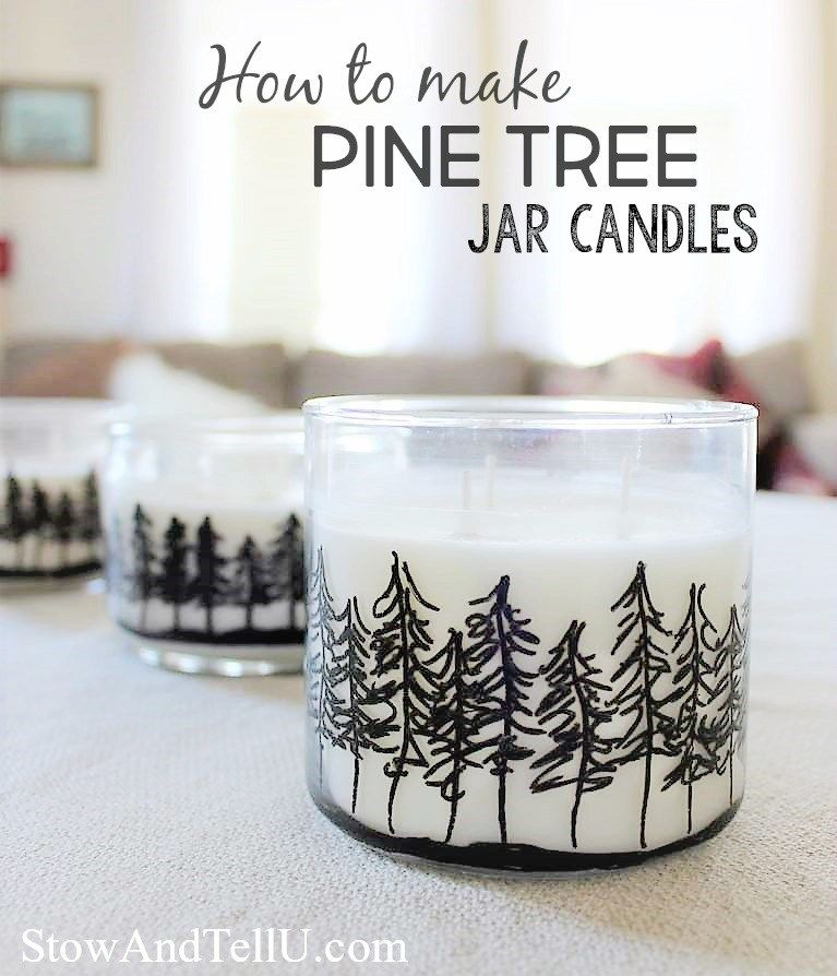 Cabin Fever Craft Diy Pine Treeline