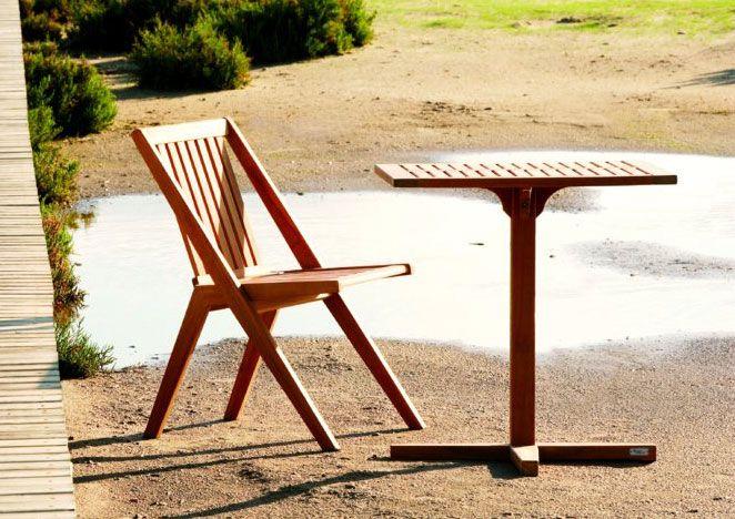 silla de teca modelo serpens | Terraza y jardin | Pinterest ...