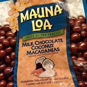 Mauna Loa Milk Chocolate Coconut Macadamia Nuts Costco Hawaii Kai