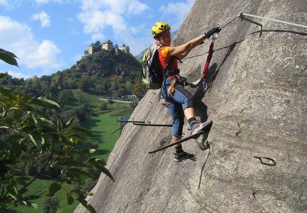 Klettersteig Bregenz : Hoachwool klettersteig montagna