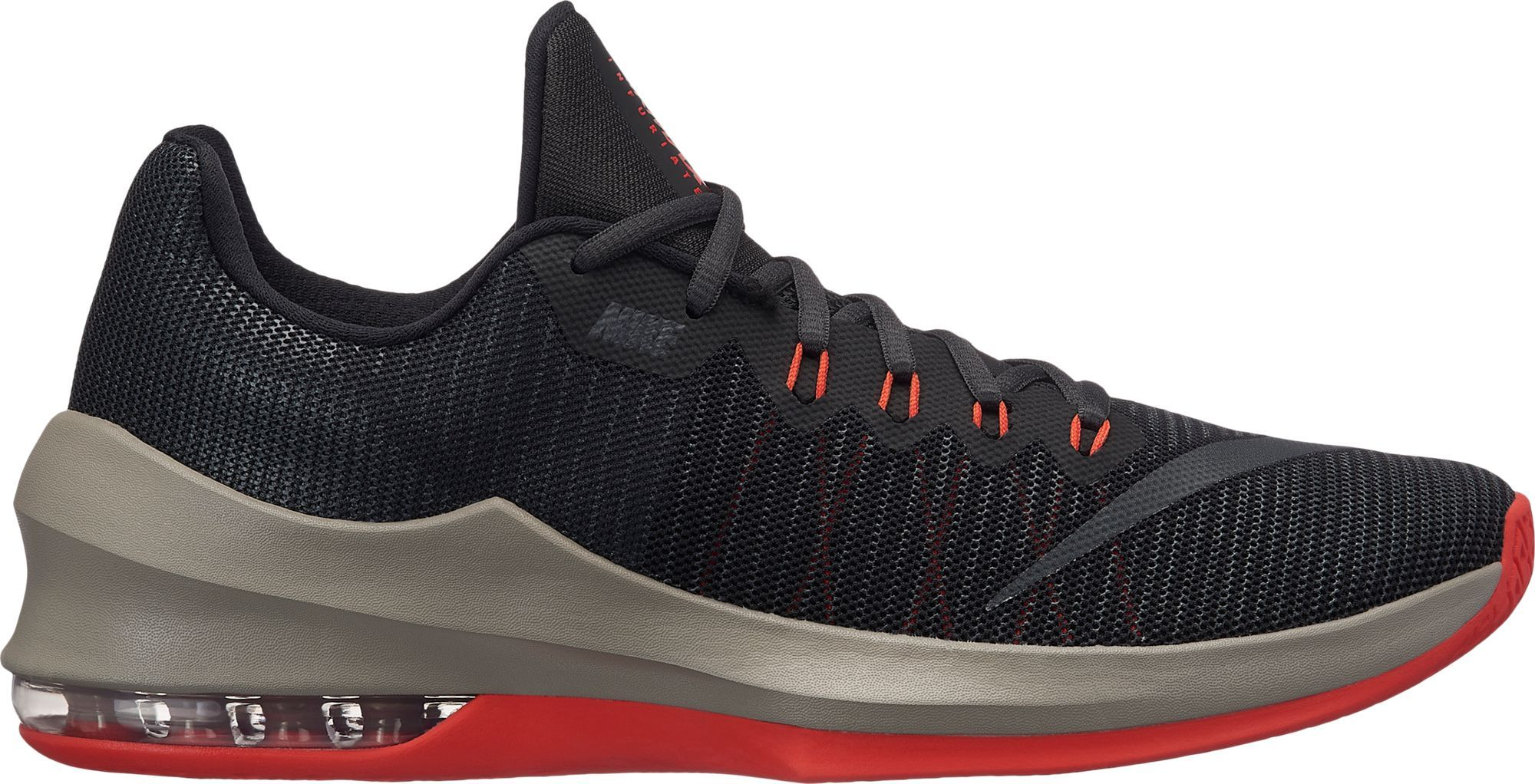 the best attitude 166d4 bd018 Nike Men s Air Max Infuriate 2 Low Basketball Shoes, Black