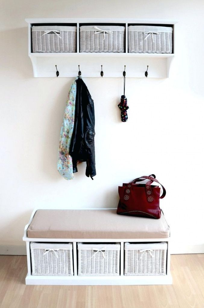 Wall Mount Wicker Baskets Home Sweet Pinterest Mounted Coat Rack Racks And