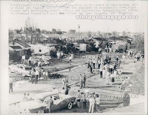 1961 Jet Fighter Crash Home Family Kill Injure Midwest City Oklahoma Oklahoma History Oklahoma Outdoor