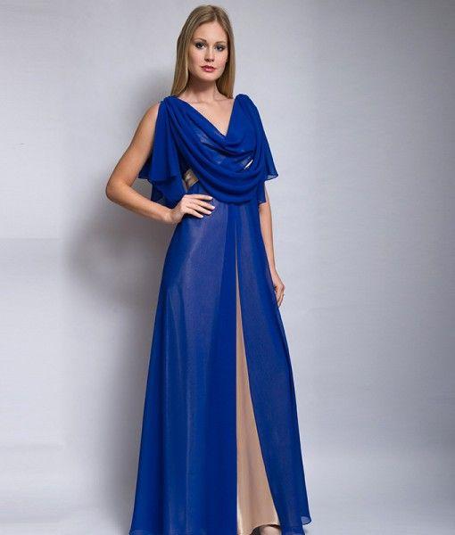 El azul, frío, como tono predominante, representa el color más deseado, de la simpatía, la armonía y la fidelidad. Lo acompaña el beige representando el dorado que nos da un sentimiento de lujo y felicidad.