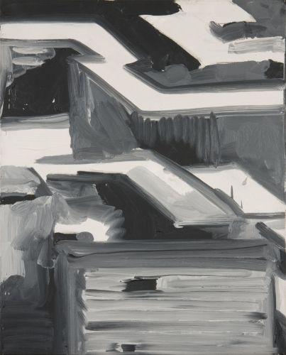Gerhard Richter, Stadtbild (Townscape) 1968, 53 cm x 43 cm, Catalogue Raisonné: 178-3, Oil on canvas