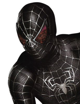 black spiderman  SEBASTIN  Pinterest  Pinturas