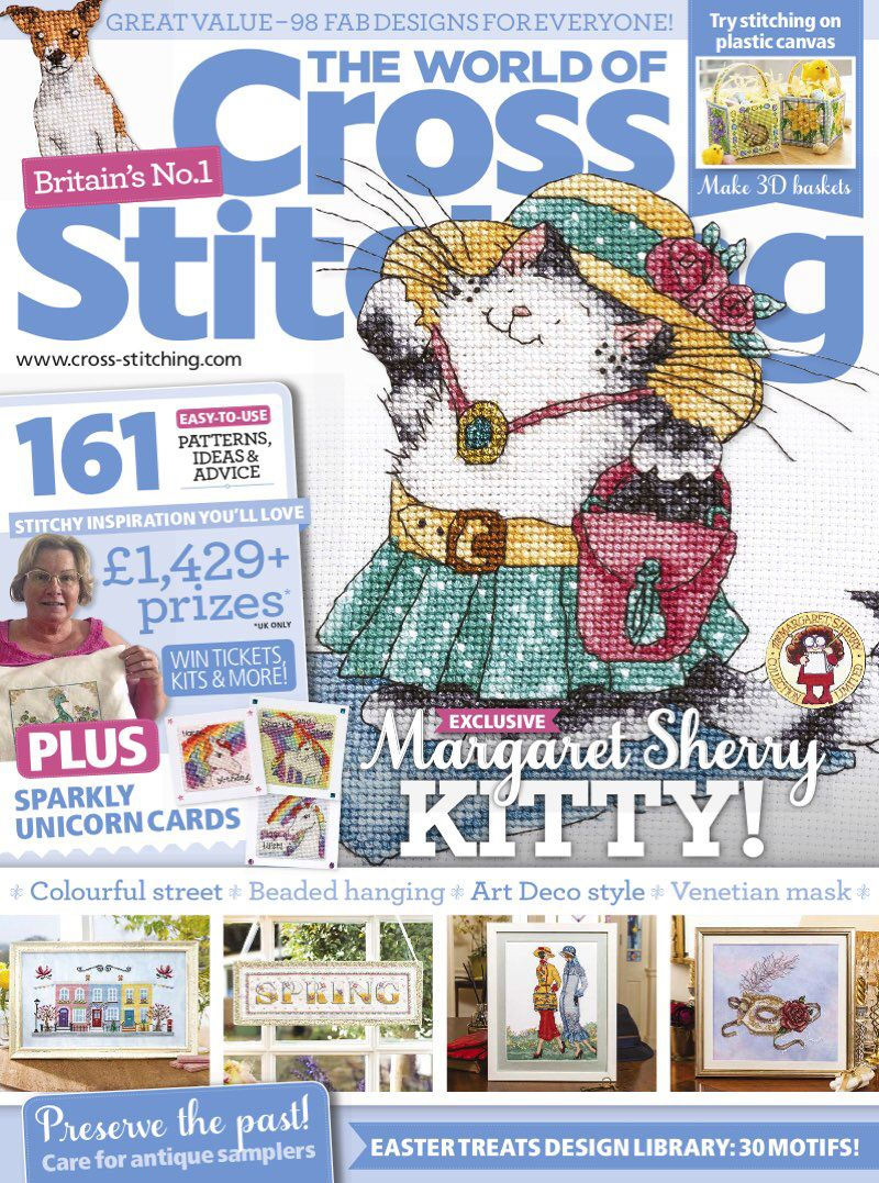 Get a FREE issue of The World of Cross Stitching. Download