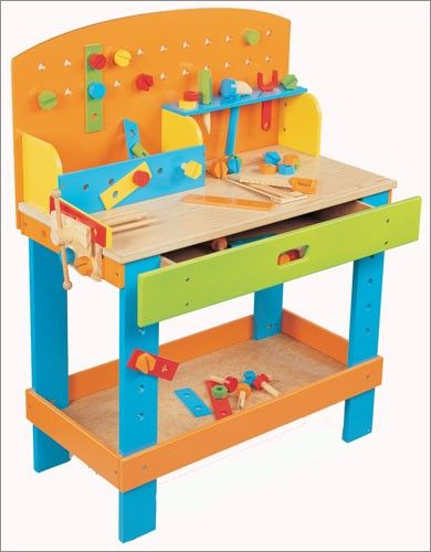 Play Workbench For Toddlers Maxim New Preschool Wooden Workbench