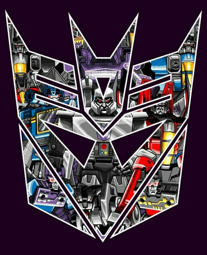 """Faction logo that I put together for the """"Decepticons and More"""" page on facebook. Didn't watermark it."""