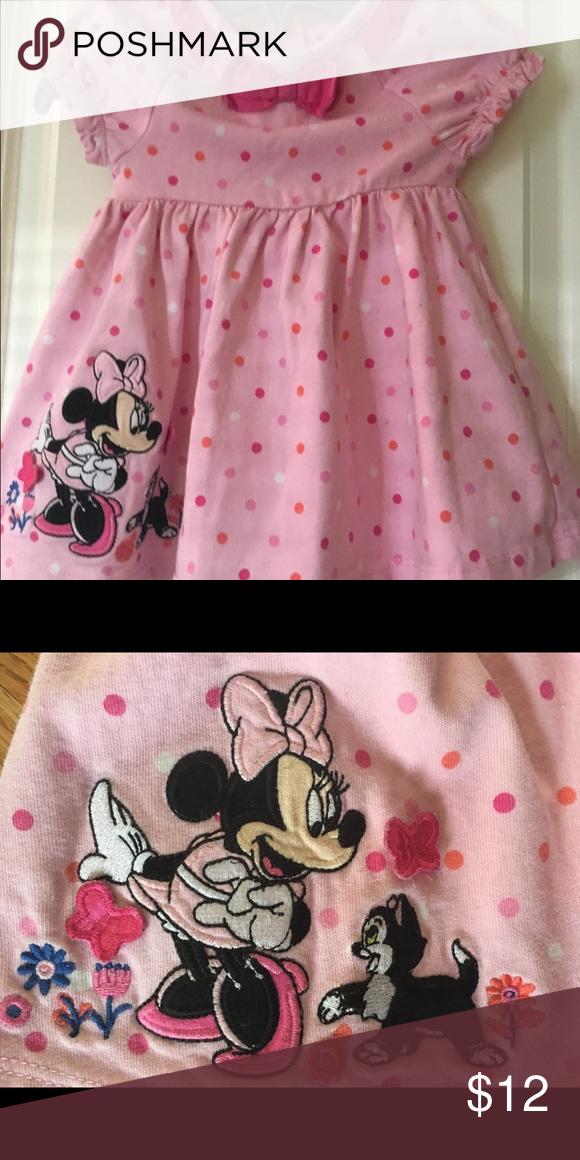 Disney Baby Minnie Mouse Dress Cute baby dress for little Minnie Mouse fans! Disney Dresses Casual