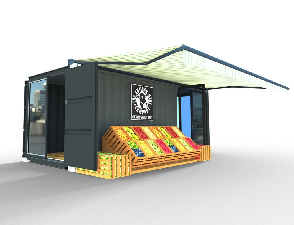 Whitecrate – Shipping Container Conversions, Up-cycled Second Life Structures available for immediate rental and purchase » ARTISAN
