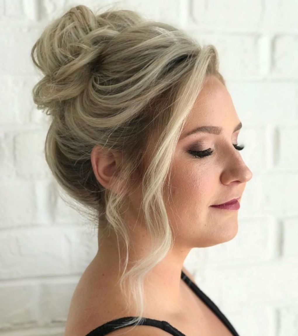 50 Hairstyles for Round Faces from Classic to Modern in 2020 | Messy hairstyles, Hairstyles for ...