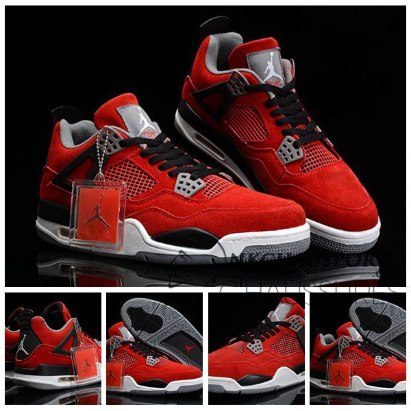 basket rouge air jordan