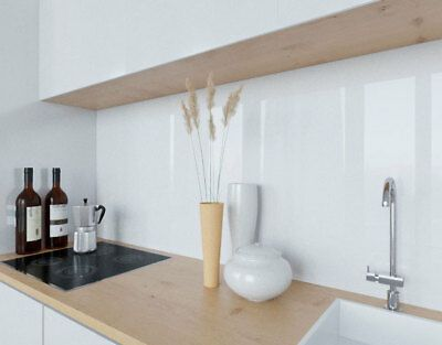 LACOBEL lackiertes Glas Küchenrückwand verschiedene Farben nach Maß Wunschmaß