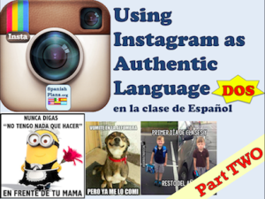 We are always looking for authentic resources to use in our lessons. Right now, instagram is the social media of choice for students. We found an instagram full of authentic quotes that pertain to ...