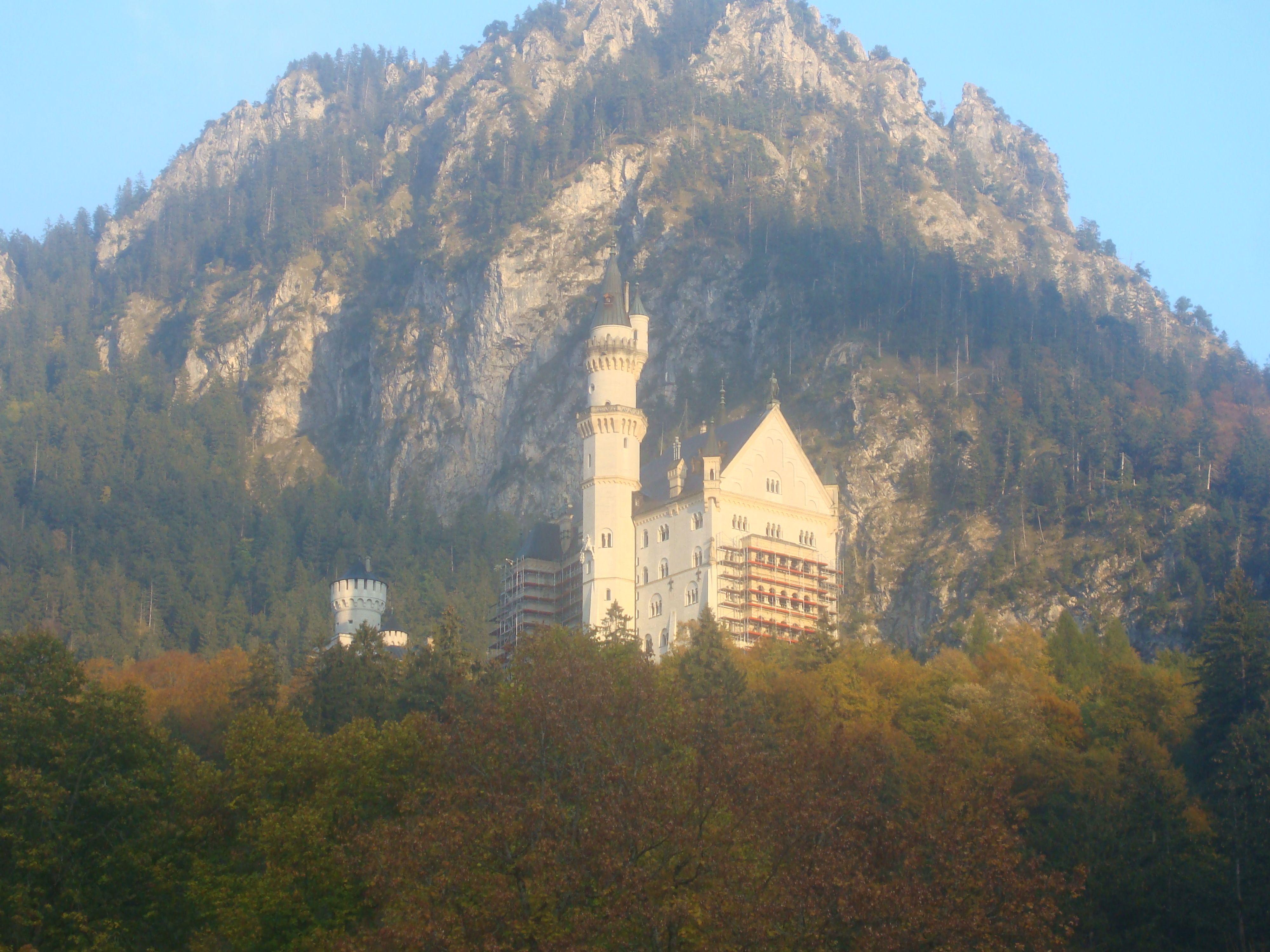 O castelo da Cinderela, em rota romântica, Alemanha.