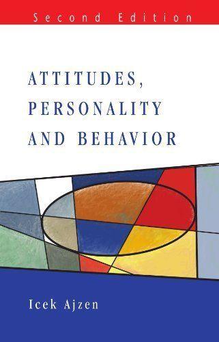 Attitudes, Personality and Behavior (2nd Edition) von I Ajzen, http://www.amazon.de/dp/B0019388T2/ref=cm_sw_r_pi_dp_6-k6qb1X4F9B1