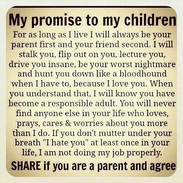 Anyone who is a parent will agree with this!
