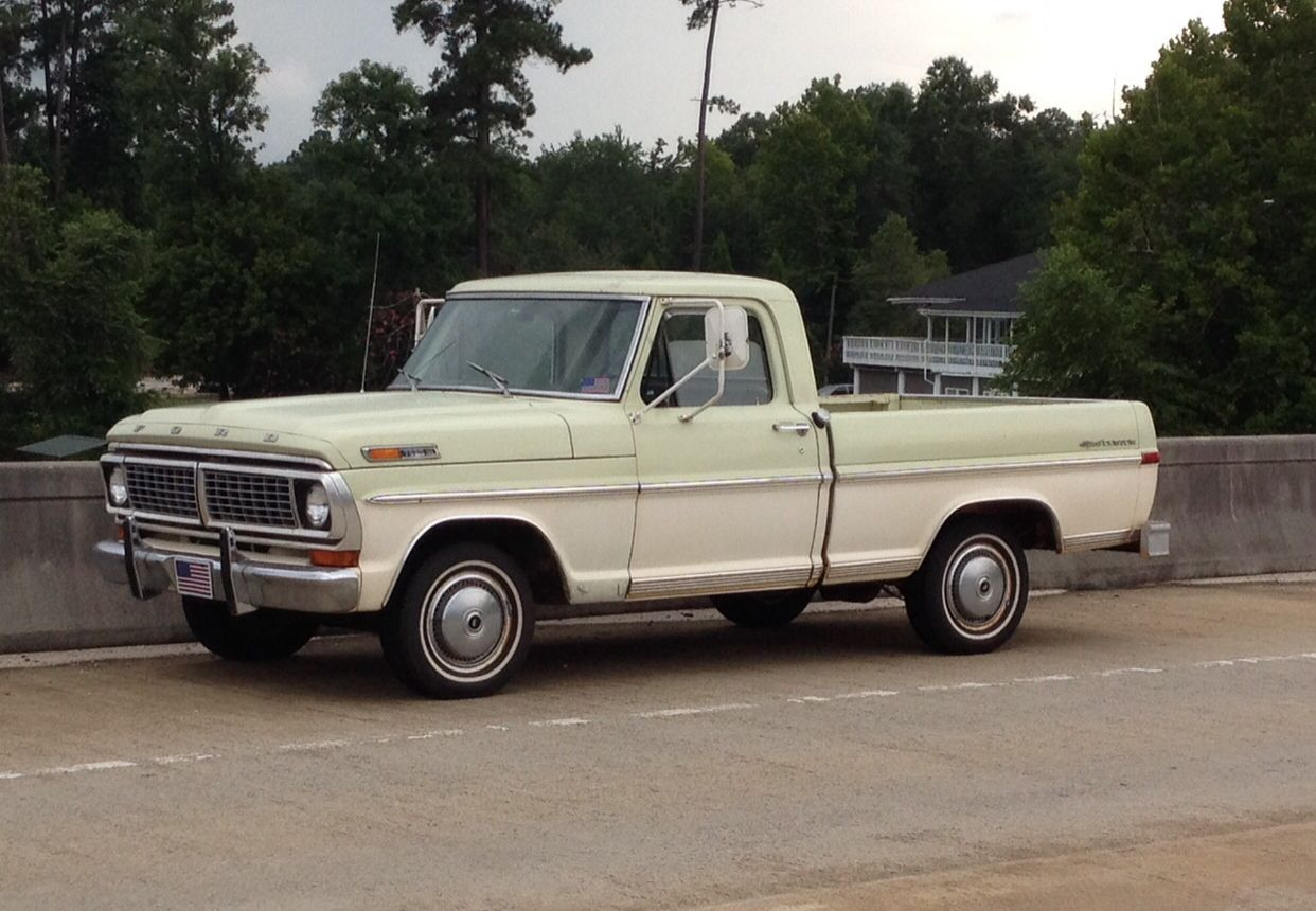 1970 Ford F100 Sportcustom In Pretty Good Shape But Still A Work Truck Progress