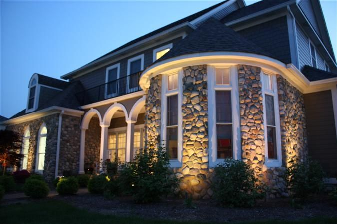 Lighting stone turret by indiana outdoor lighting brandon green lighting stone turret by indiana outdoor lighting brandon green outdoor lighting aloadofball Images