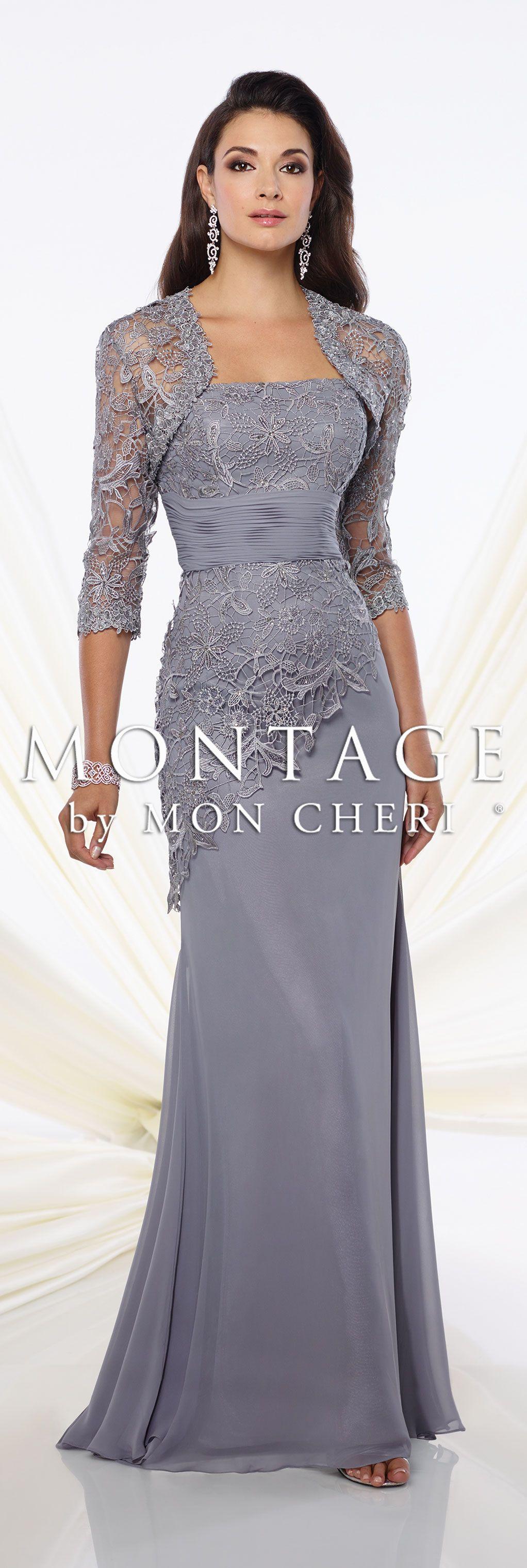 4f76ffed3e00 Montage by Mon Cheri Spring 2016 - Style No. 116944  eveninggowns Monica  Earrings www.davidtuteraembellish.com