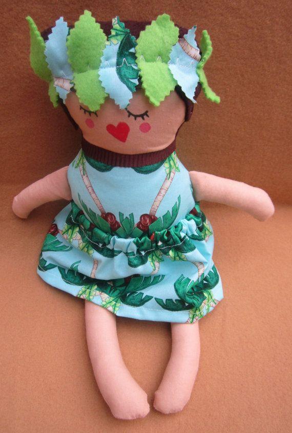 Island Girl Doll by DollsandMonsters on Etsy, $20.00