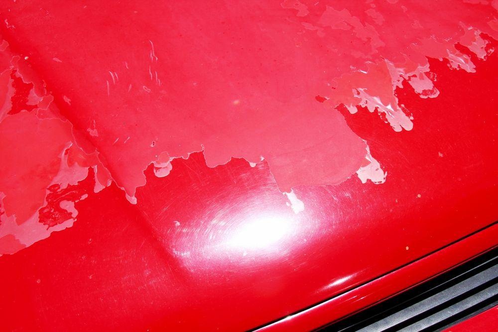 Peeling Paint Peeling Paint Auto Body Shop Car