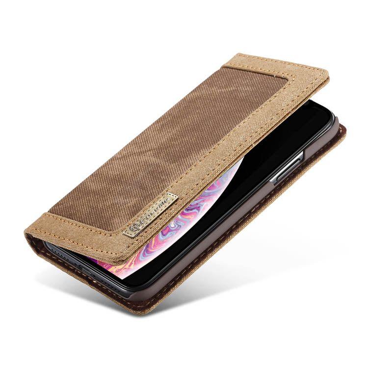 Caseme iphone xr canvas wallet kickstand case