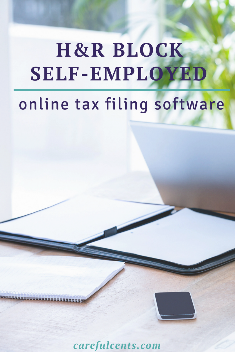 H R Block Tax Software 2018 Self Employed Online Tax Filing Made