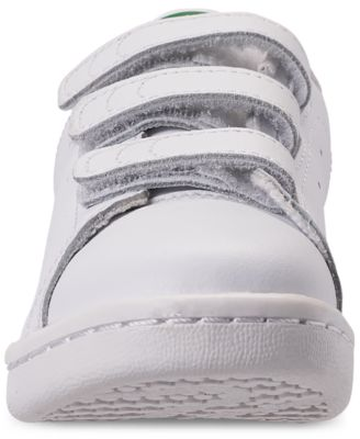 adidas Little Boys' Originals Stan Smith Stay Put Closure