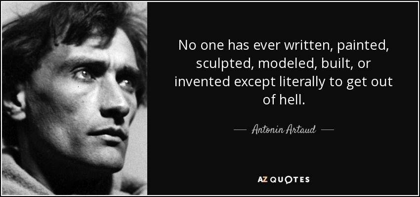 Top 25 Quotes By Antonin Artaud Of 90 A Z Quotes