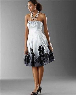 Ombre Dress White House Black Market