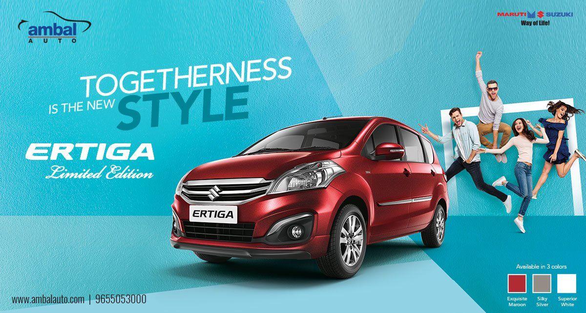 Pin by Ambal Auto on ERTIGA Suzuki news, Smart