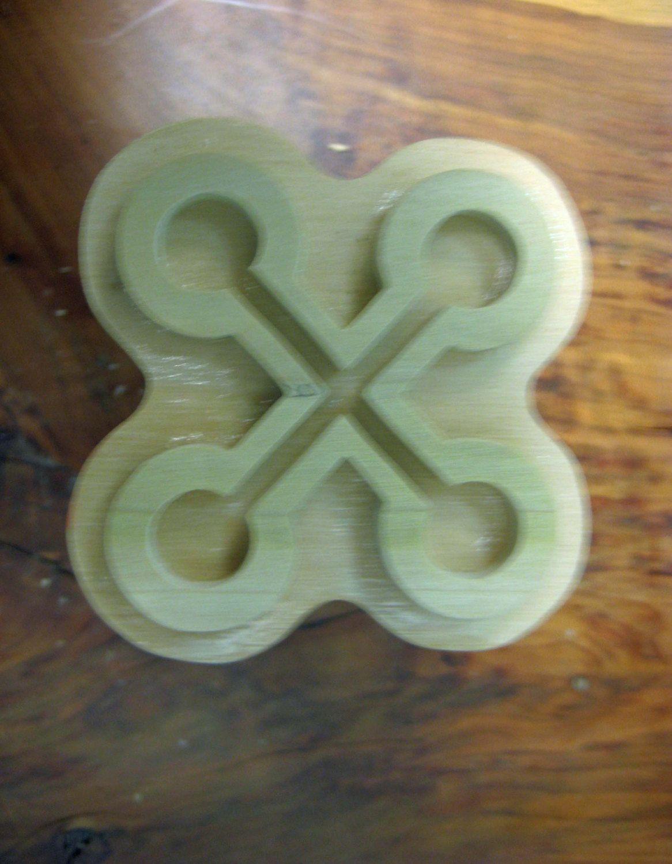 nyame nwu na mawu adinkra handmade wooden stamp on sale by pablo