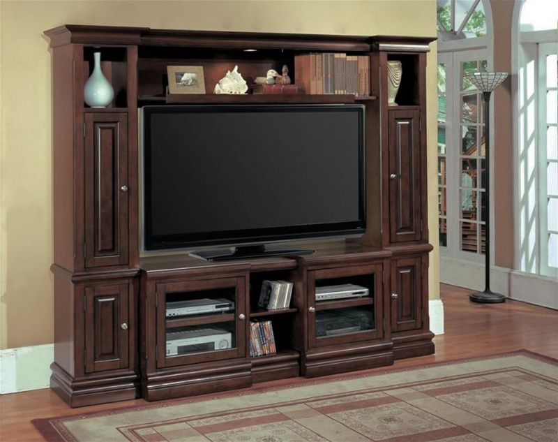 Premier Sterling 48-65-Inch TV 4 Piece Wall Unit in Espresso