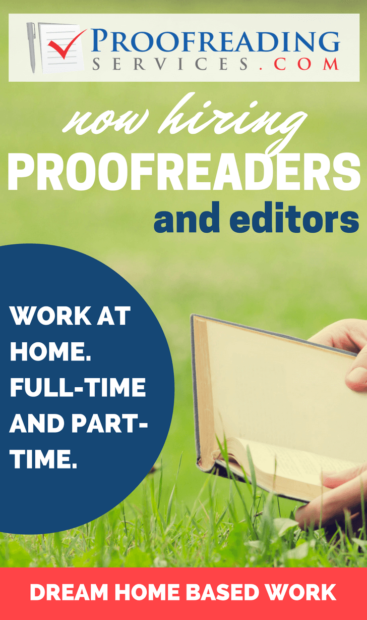 Part time editing jobs