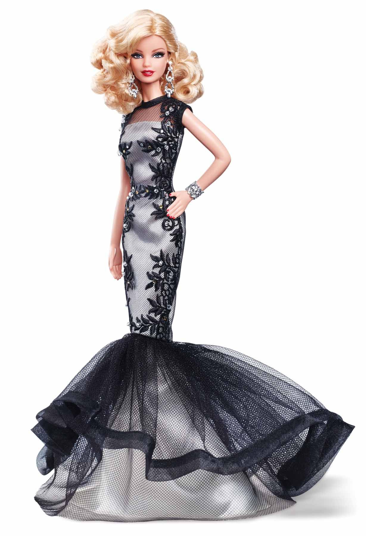 Classic Evening Gown Barbie | Gowns