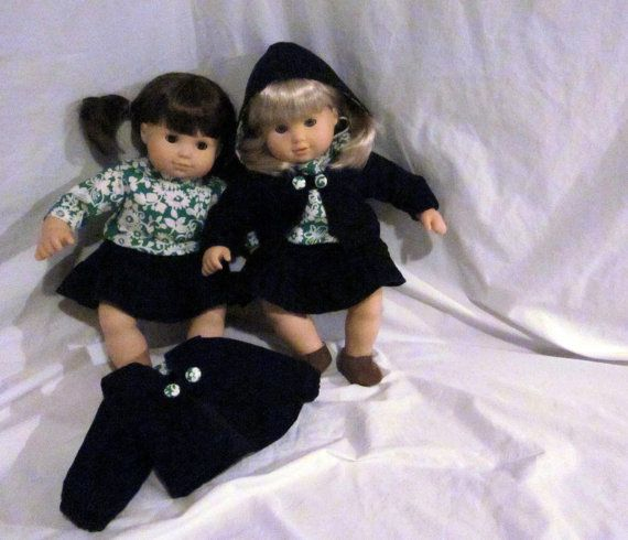 Bitty Twins Outfit 5 Doll Twin Set Bitty Baby by HandmadeMcCoy, $40.00