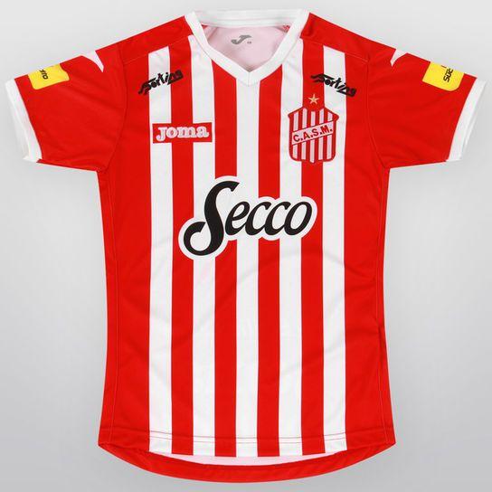 Camiseta Joma San Martín de Tucumán Oficial 2015 Infantil - Rojo ... 3dffd2fa6e91e