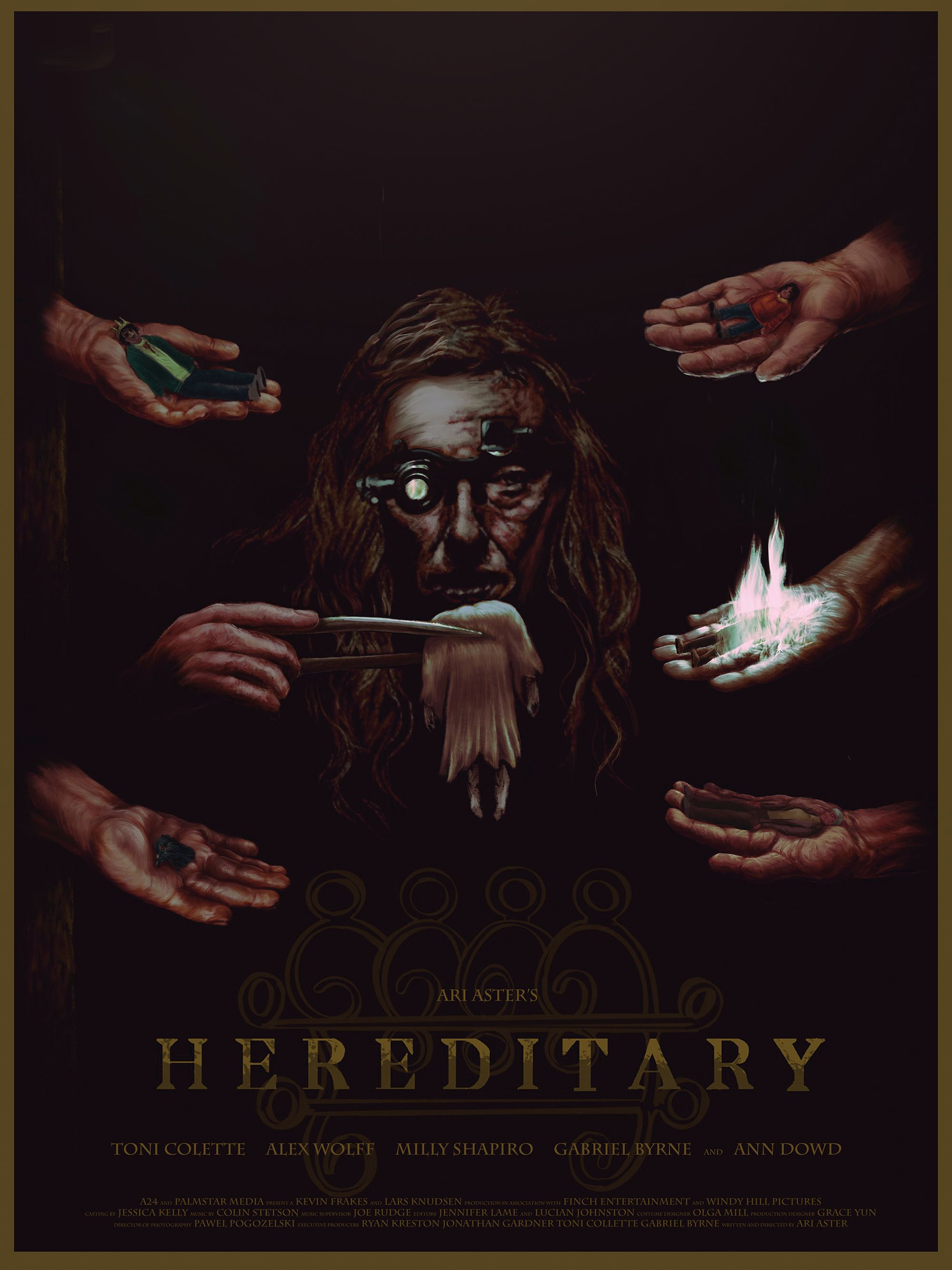 Posters From Nycc Hereditary Lotr Infinity Saga Godfather Star Warshttps Imgur Com A Rkbduup Horror Movie Art Film Posters Art Movie Poster Art