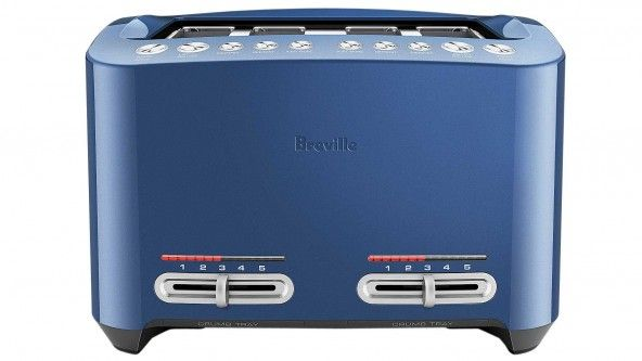 change the way you make breakfast with this breville smart toast 4 slice toaster with