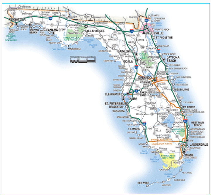 Best Source For Florida Travel Culture Things To Do Map Of Florida Florida Travel Guide Florida Travel
