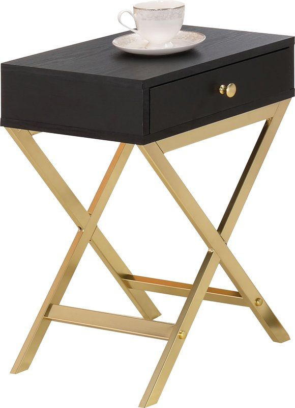 Pin On Divalicious Black And Gold Furniture