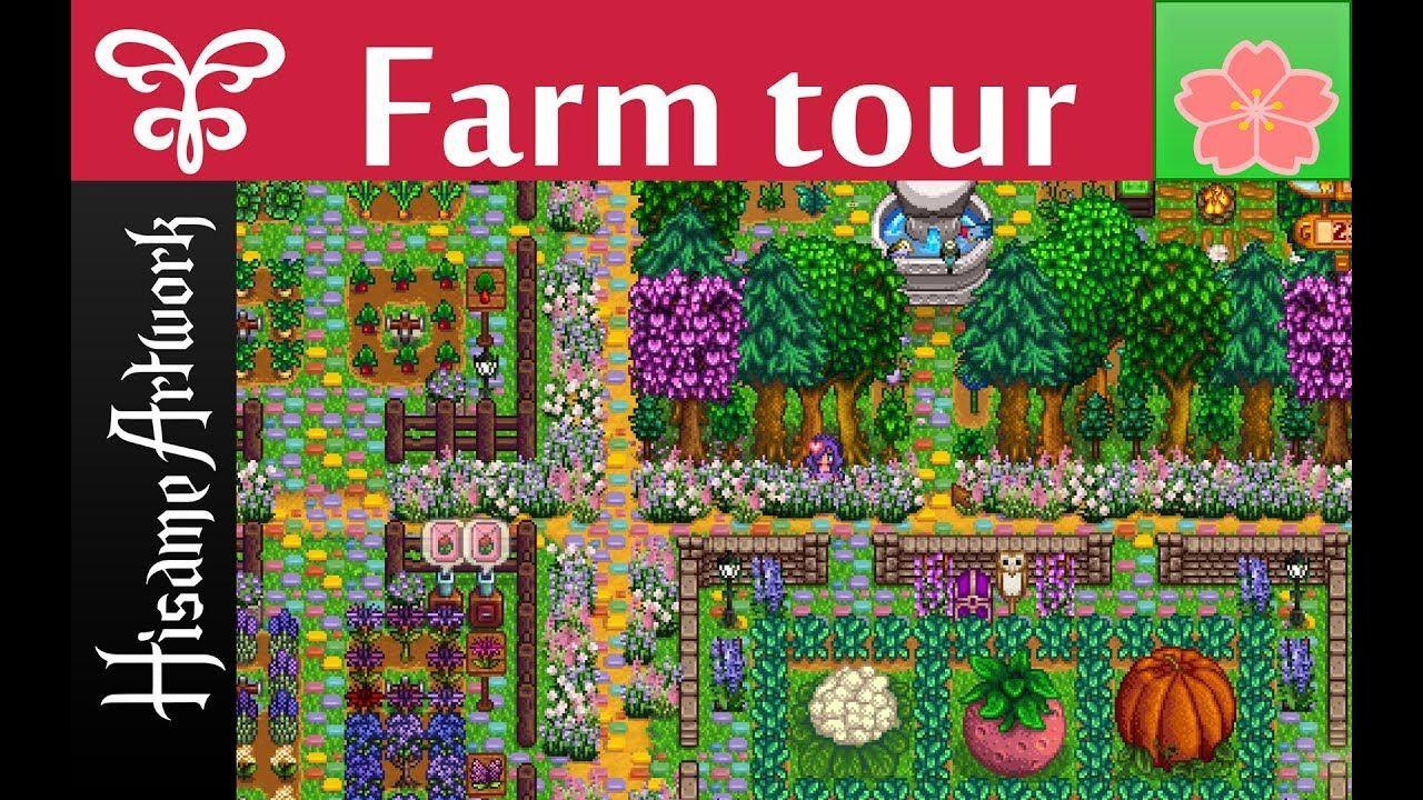 Stardew Valley Farm Tour Spring Immersive Farm 2 Mod Stardew Valley Farms Stardew Valley Farm Tour