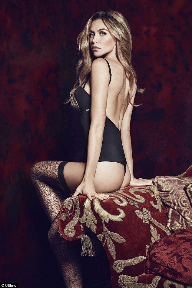 4bb892a410 Abbey Clancy shows models Ultimo s party lingerie collection  dailymail