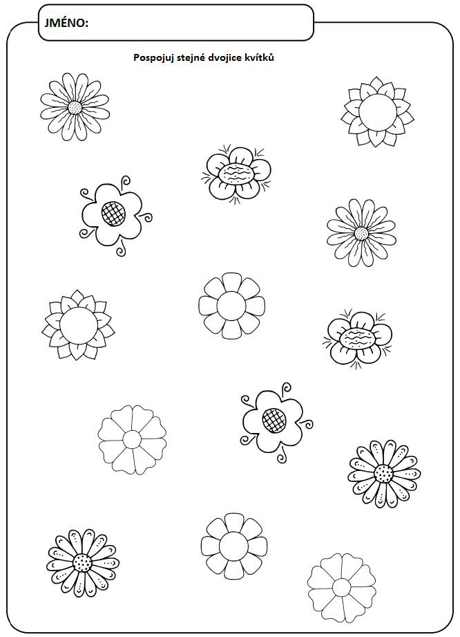 Rostliny Kvetiny Vytvarna Vychova Pracovni Listy