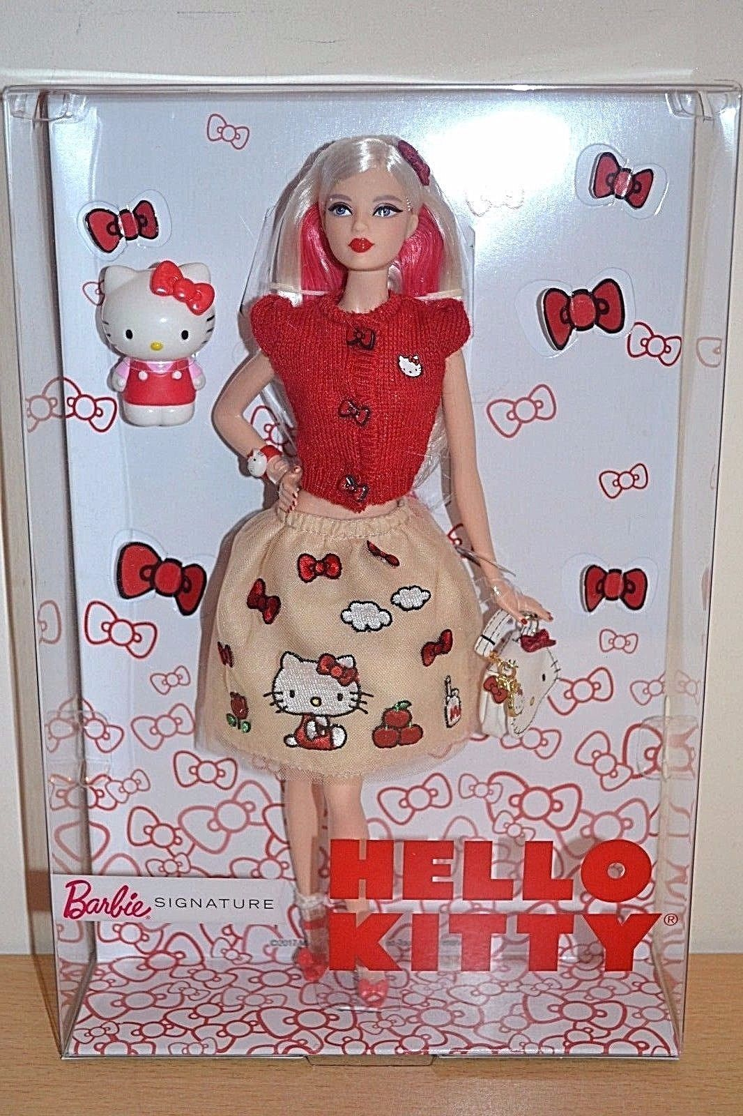 Barbie DWF58 Hello Kitty Fashion Doll Signature