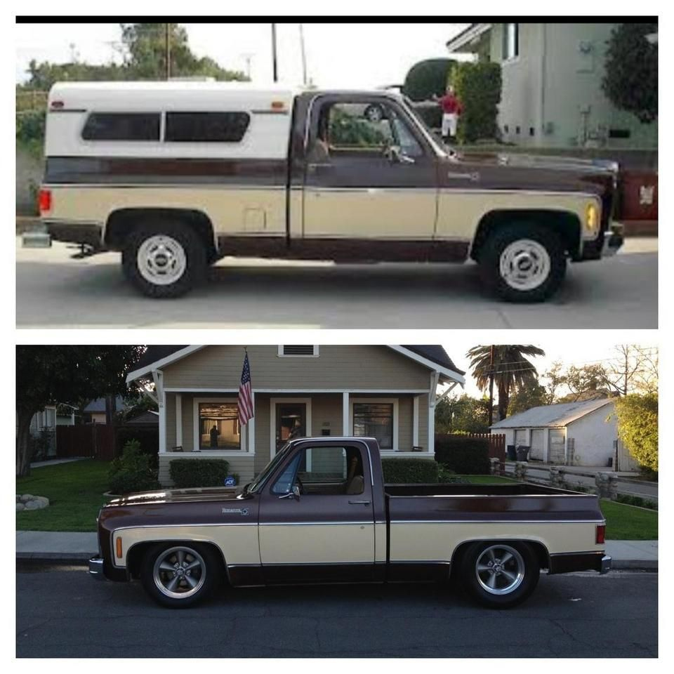 Mack Truck Rod Before And After: Chevy Trucks, C10 Chevy