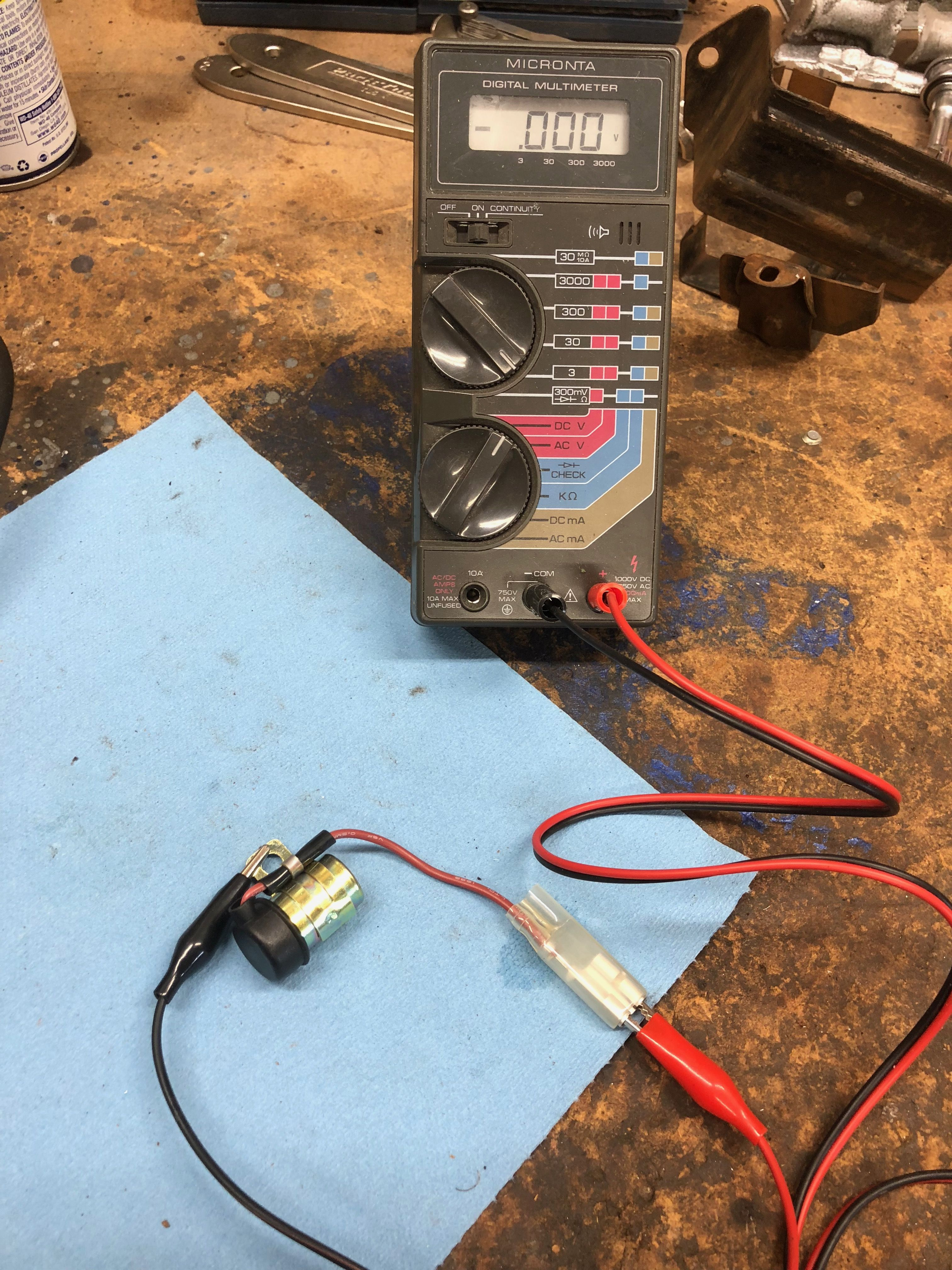 CT90 Condenser Test - At the attached link I explain how to test